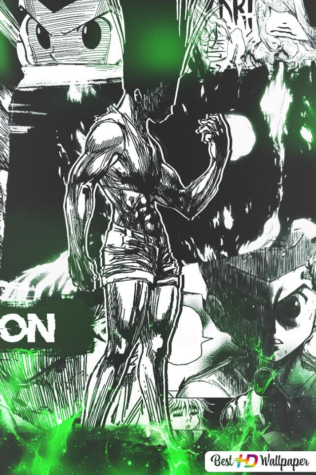 Hunter X Hunter Gon Freecss Manga Ver Hd