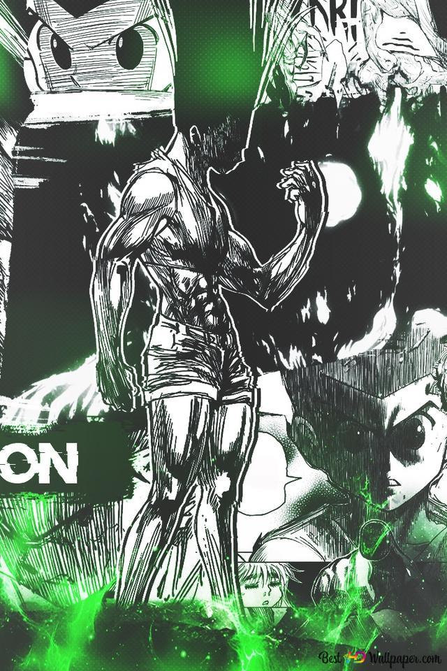 Hunter X Hunter Gon Freecss Manga Ver Hd Wallpaper Download