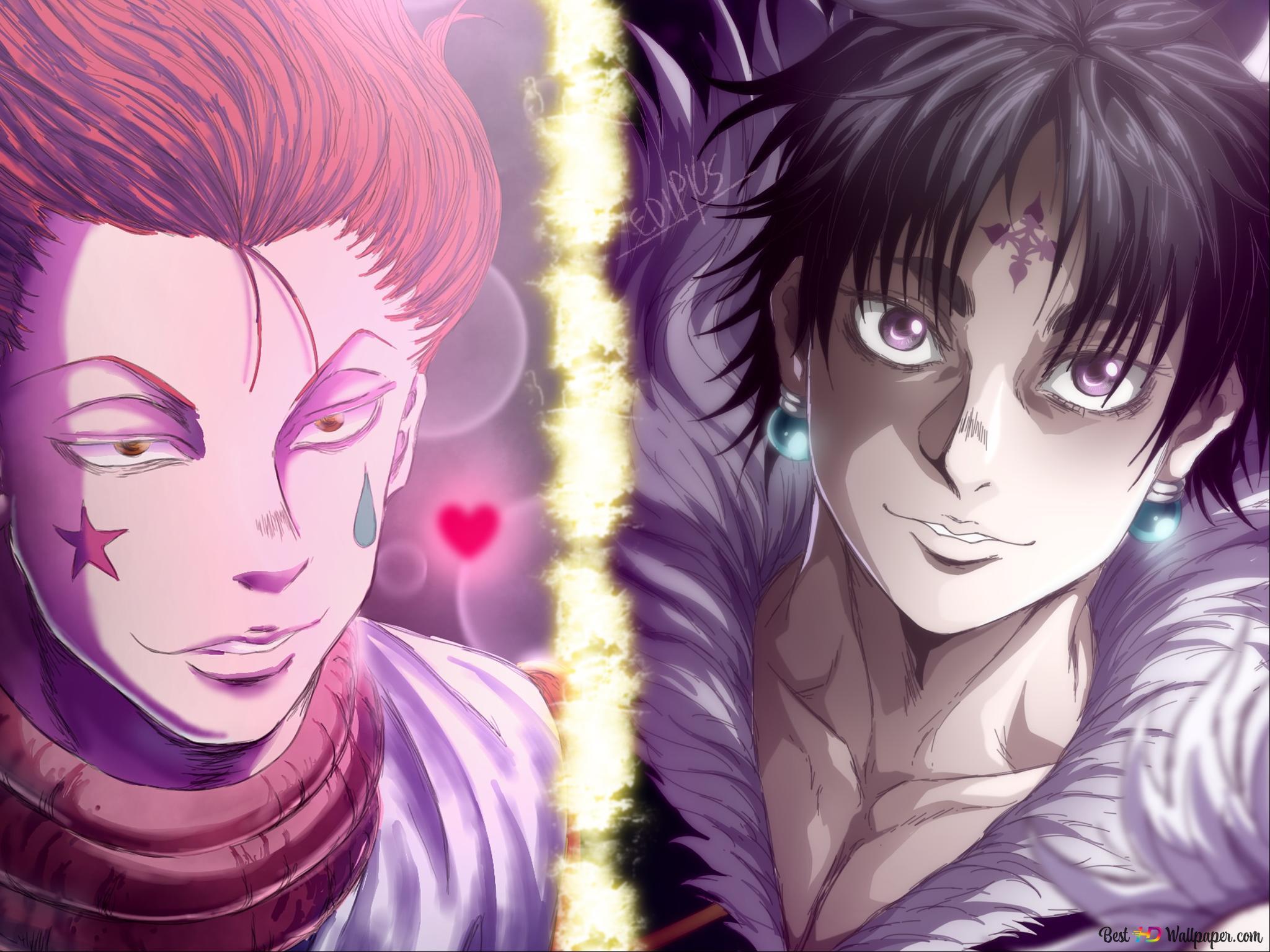 Hunter X Hunter Hisoka Chrollo Lucifer Hd Wallpaper Download