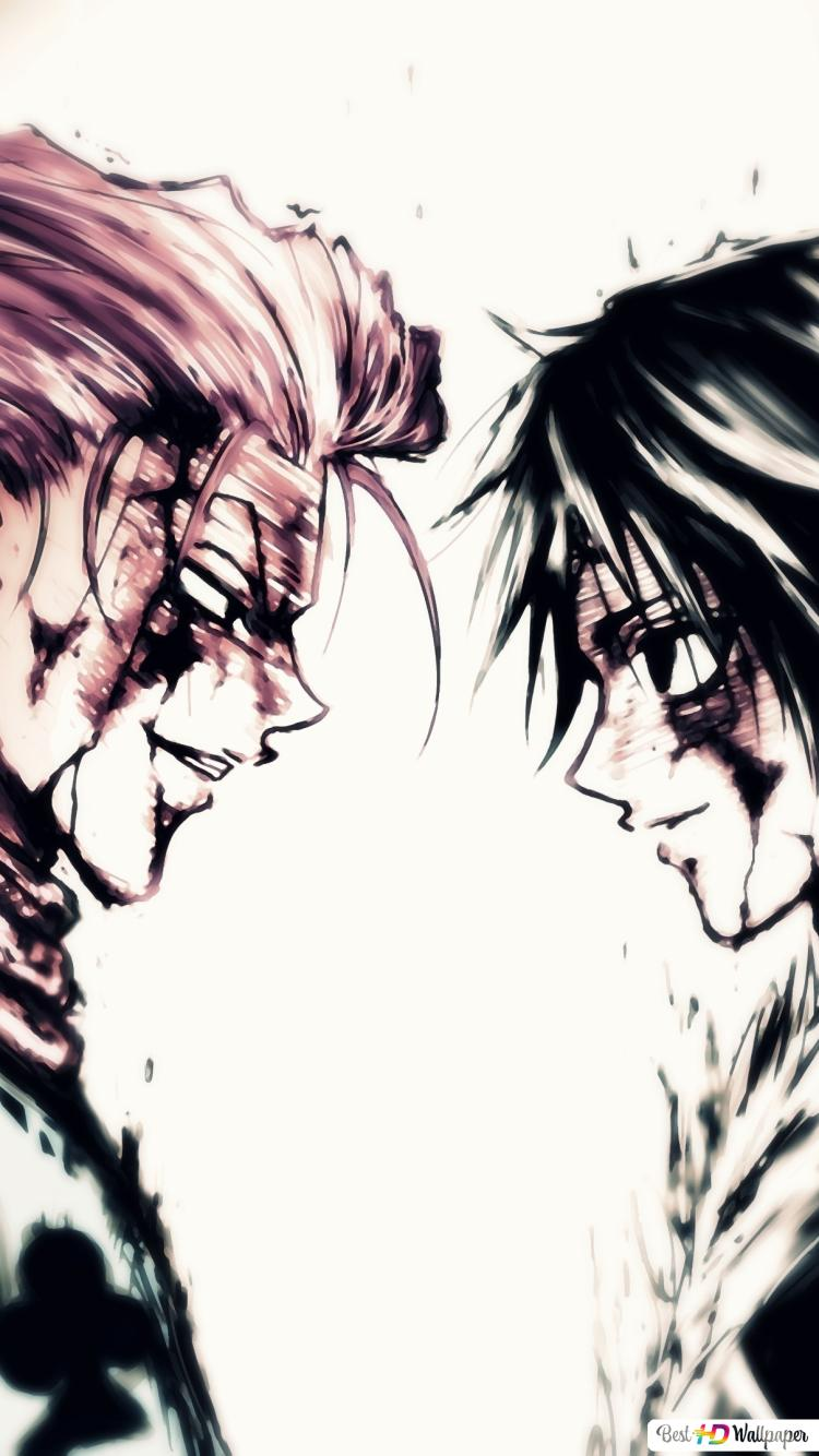 Hunter X Hunter Hisoka Vs Chrollo Hd Hintergrundbilder