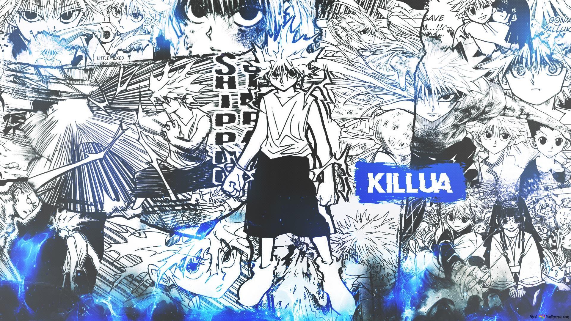 Hunter X Hunter Killua Zoldyck Hd Wallpaper Download