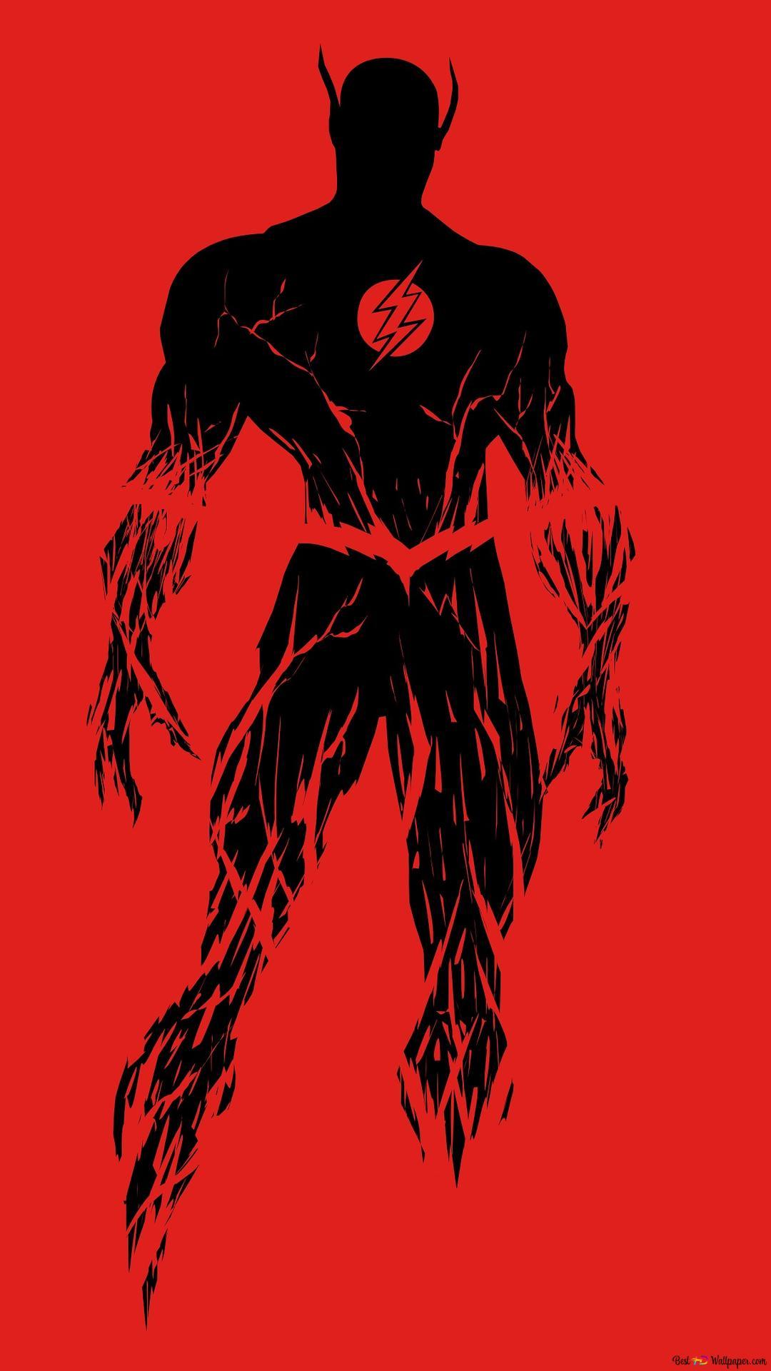 フラッシュ黒と赤のミニマリスト Hd壁紙のダウンロード