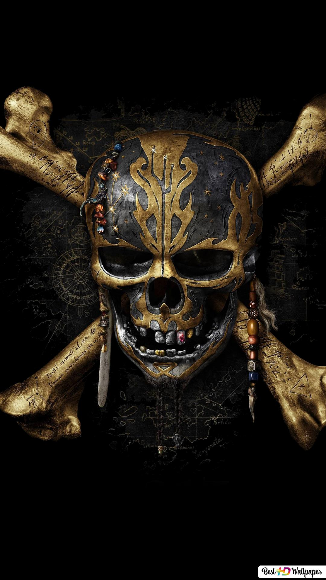 I Pirati Dei Caraibi Uomo Morti Non Parlano Download Di Sfondi Hd