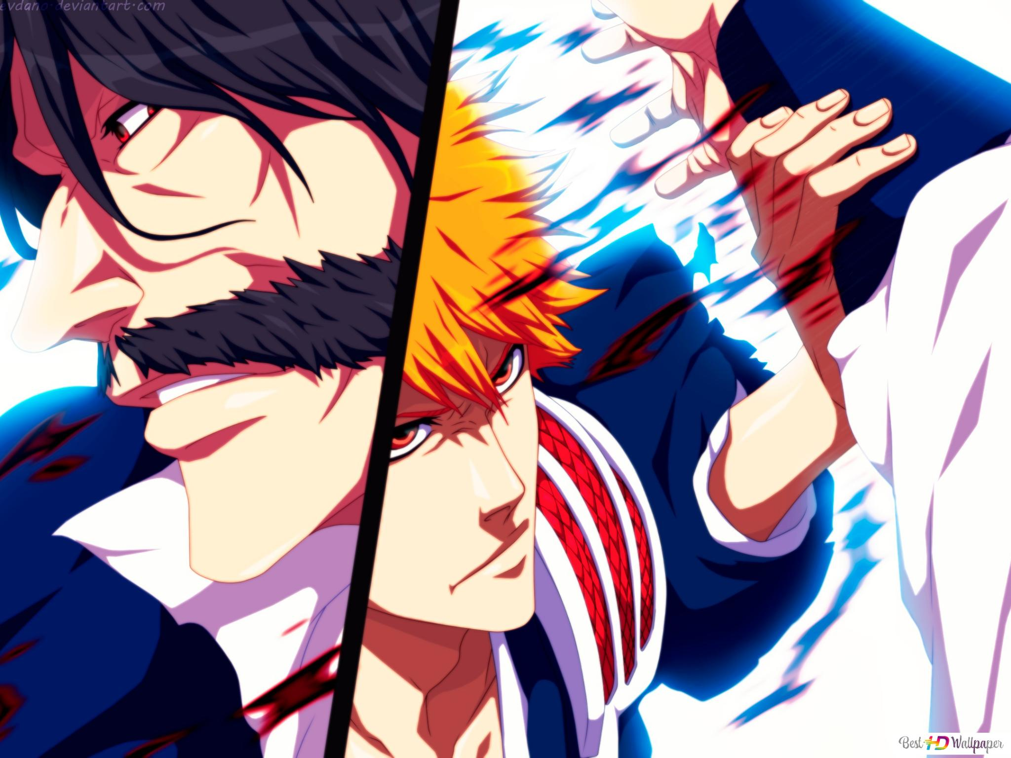 Ichigo Vs Yhwach HD wallpaper download