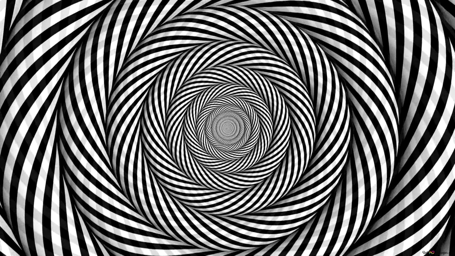 Ilusão óptica Preto E Branco Hd Wallpaper Download