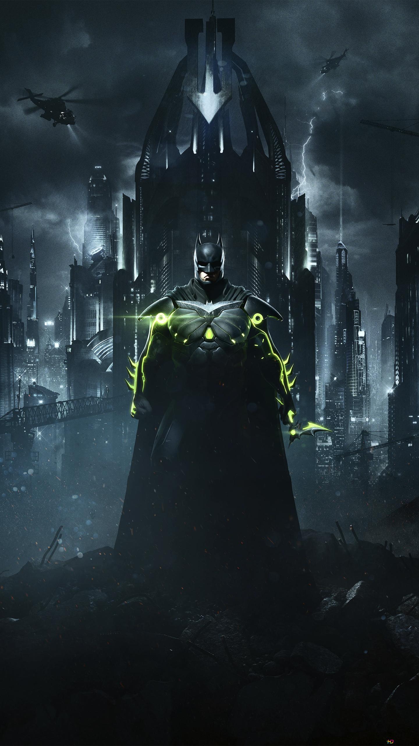 Injustice 2 Game Batman Hd Wallpaper Download