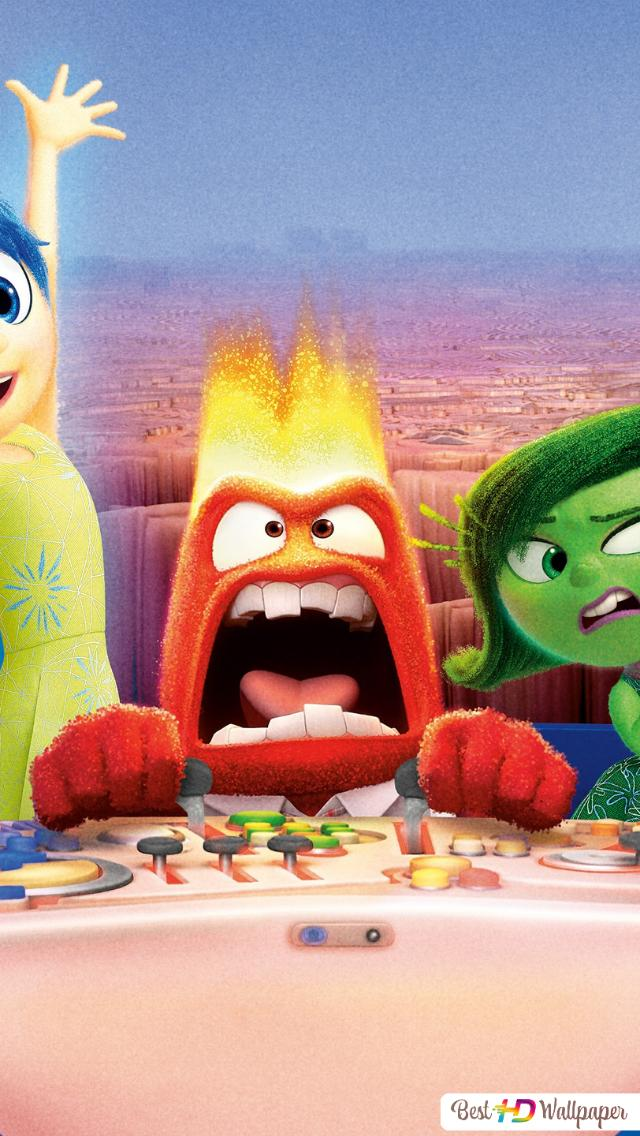 Inside Out movie - Riley's emotions HD wallpaper download
