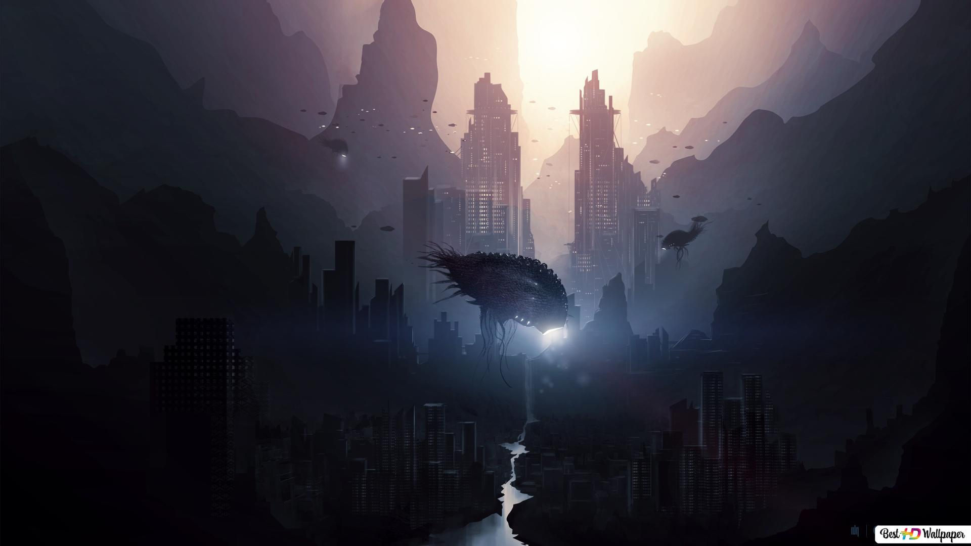 Invasion Extraterrestre Hd Fond D Ecran Telecharger