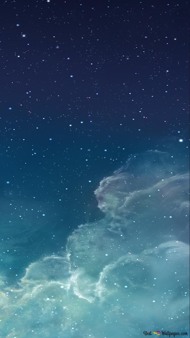 IOS 7 Galaxy Wallpaper HD Hintergrundbilder Herunterladen