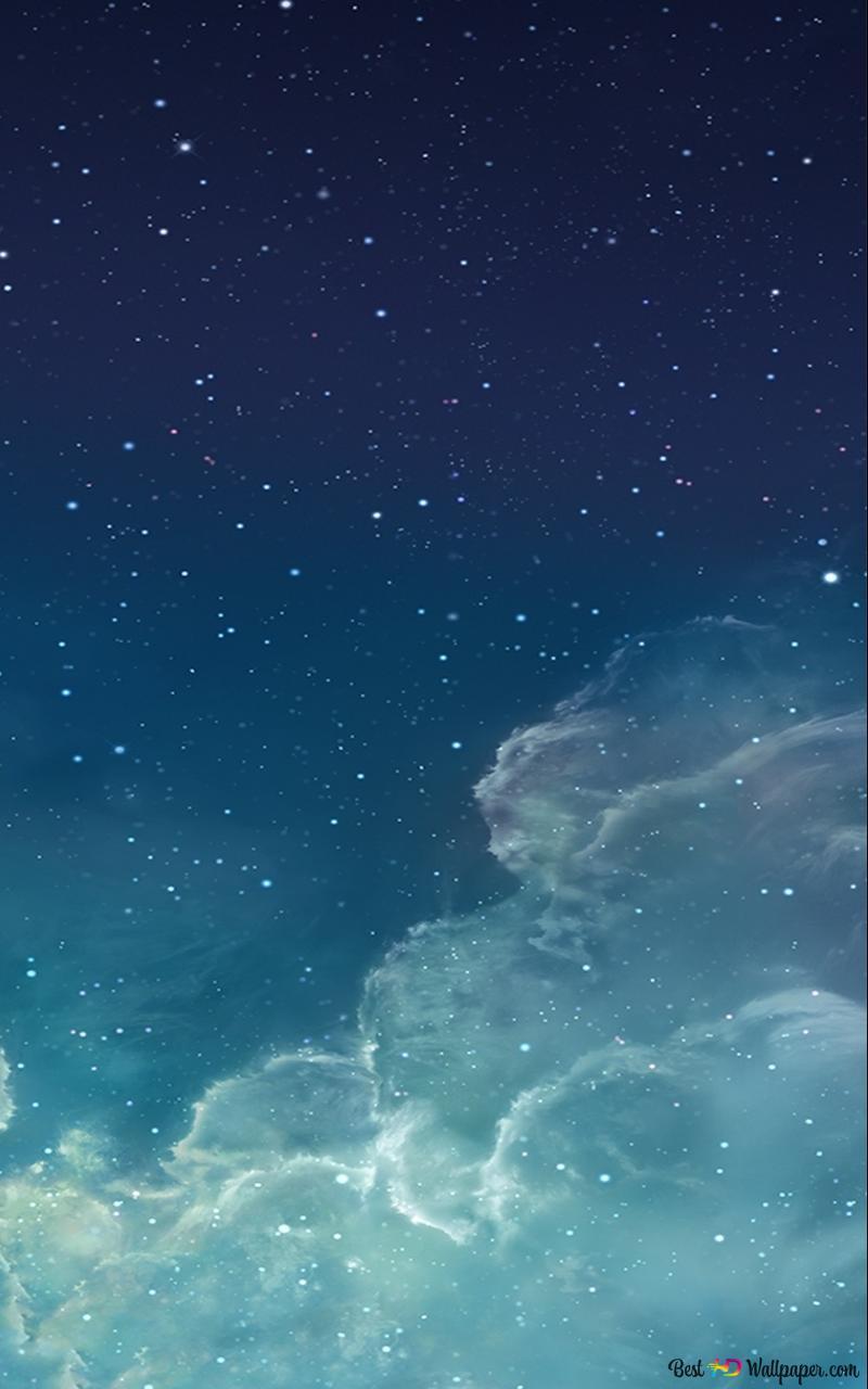 Ios 7 Galaxy Wallpaper Hd Wallpaper Download