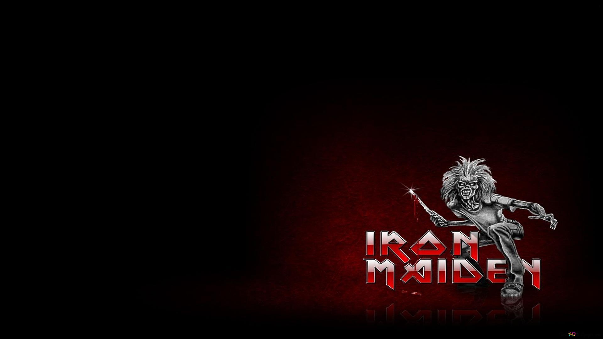 Descargar Fondo De Pantalla Iron Maiden Banda De Metal Hd