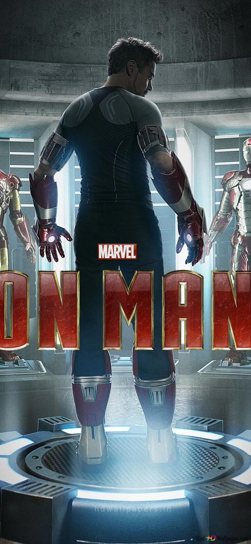 Iron Man 3 Filmplakat Hd Hintergrundbilder Herunterladen