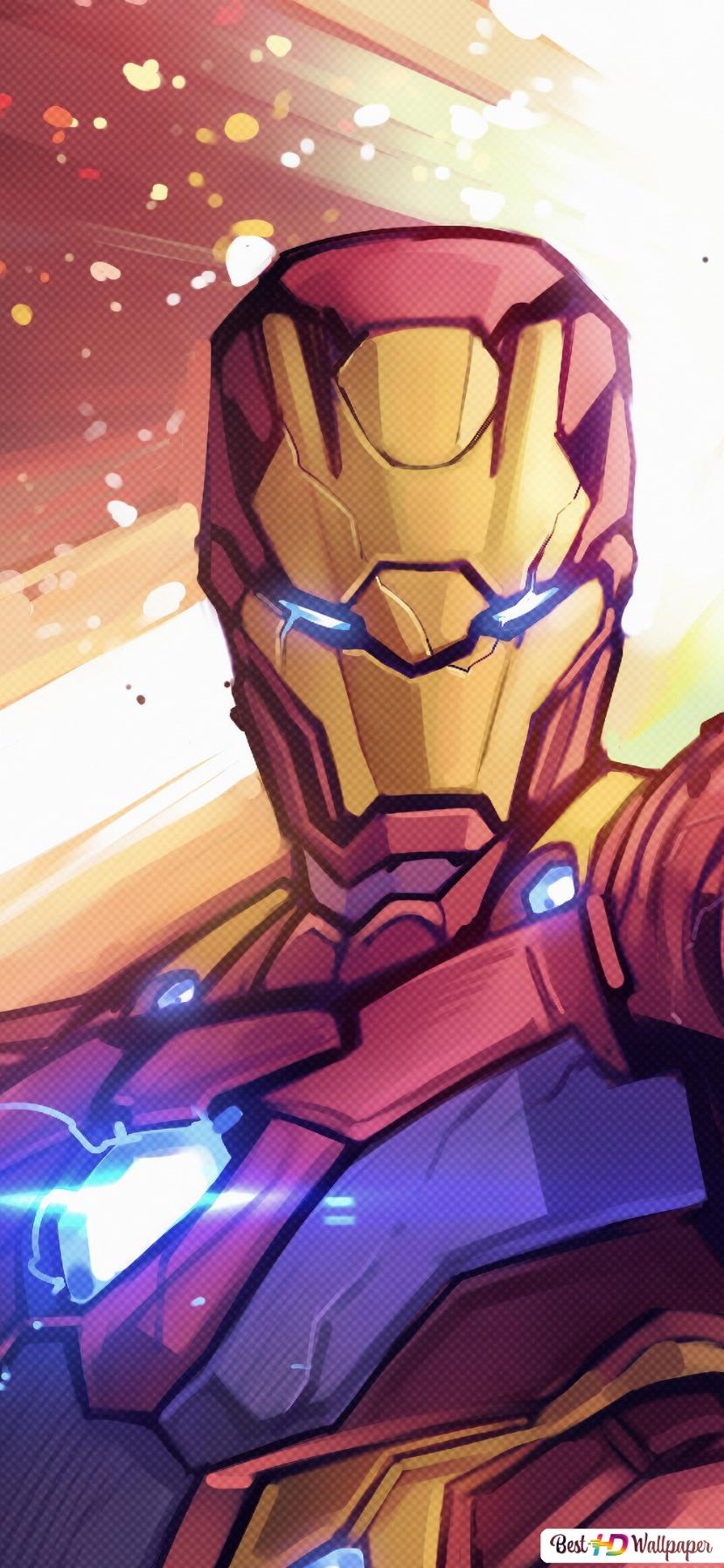 Iron Man Besitzen Unendlichkeit Gaunlet Fanart Hd