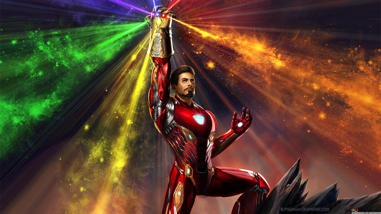 Iron man e le gemme infinity download di sfondi hd for Sfondi iron man