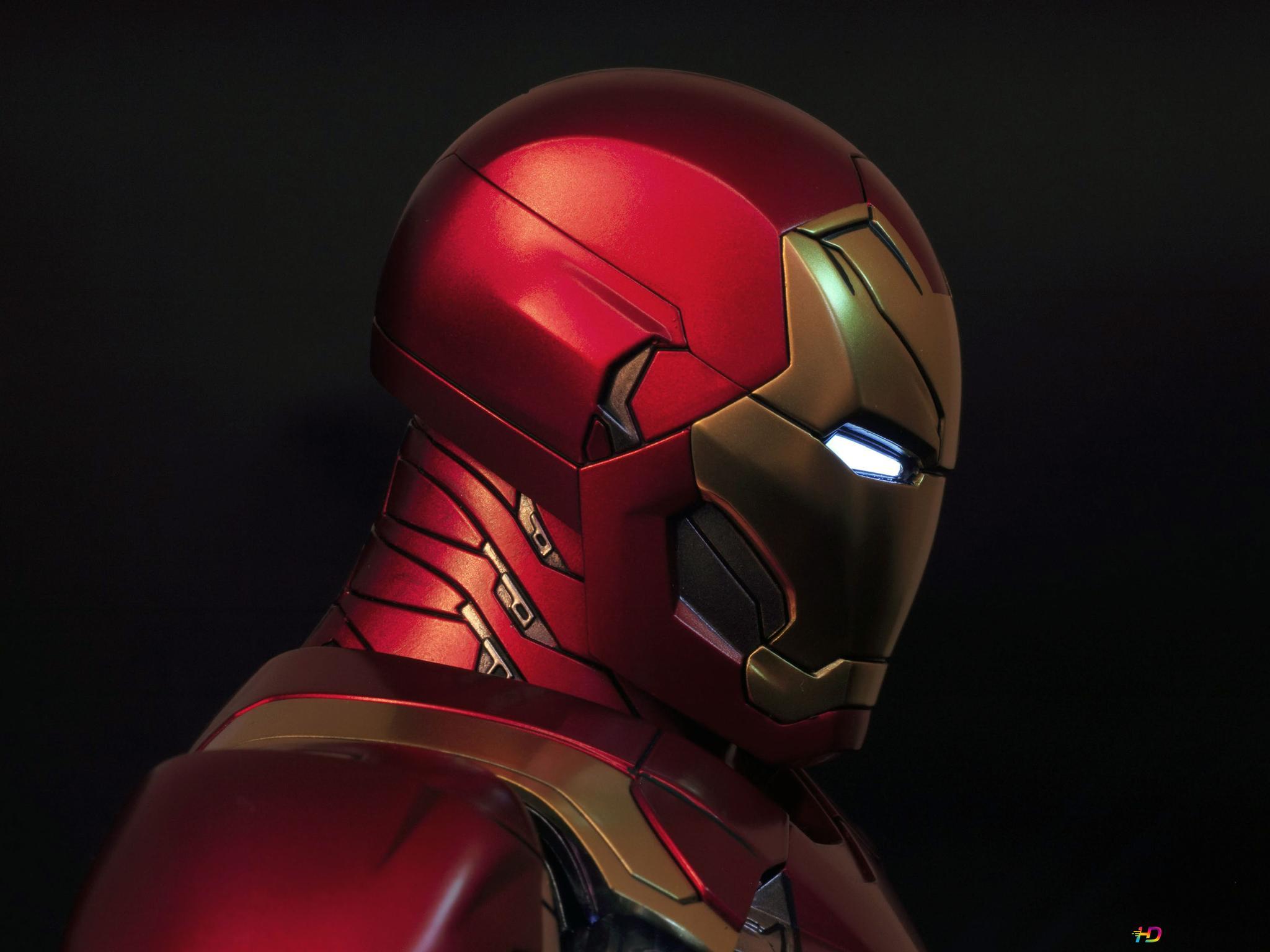 Iron Man Mark Xlvi Hd Hintergrundbilder Herunterladen