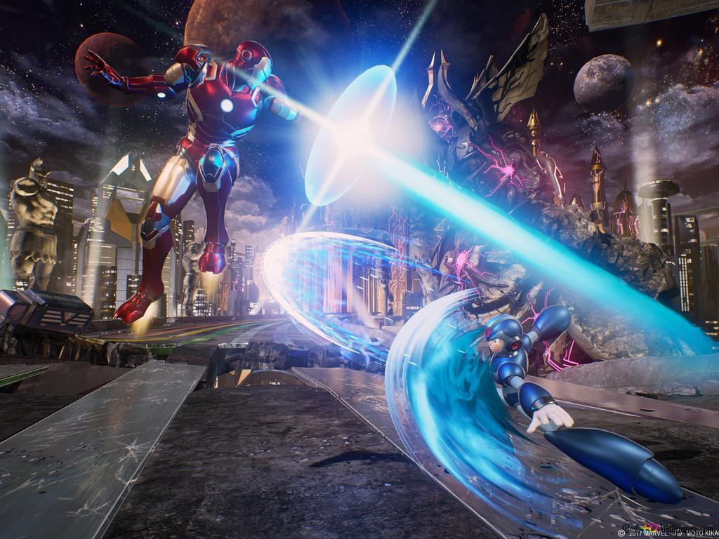 Iron Man Vs Mega X HD Wallpaper Download