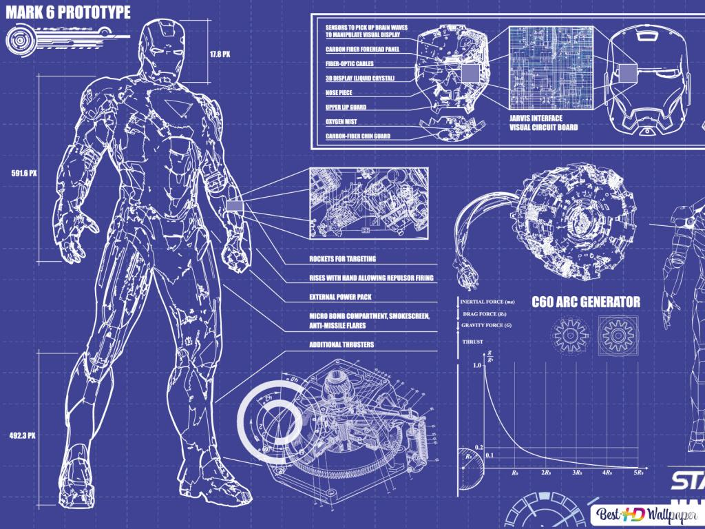Ironman Movie Background Hd Wallpaper Download