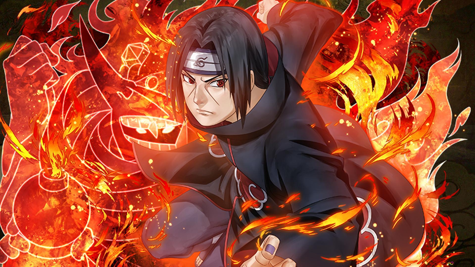 Itachi Uchiha Dari Naruto Shippuden Untuk Desktop Unduhan Wallpaper Hd