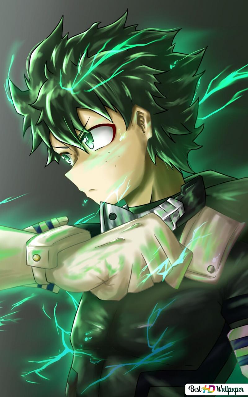 Izuku Midoriya Deku My Hero Academia Hd Wallpaper Download