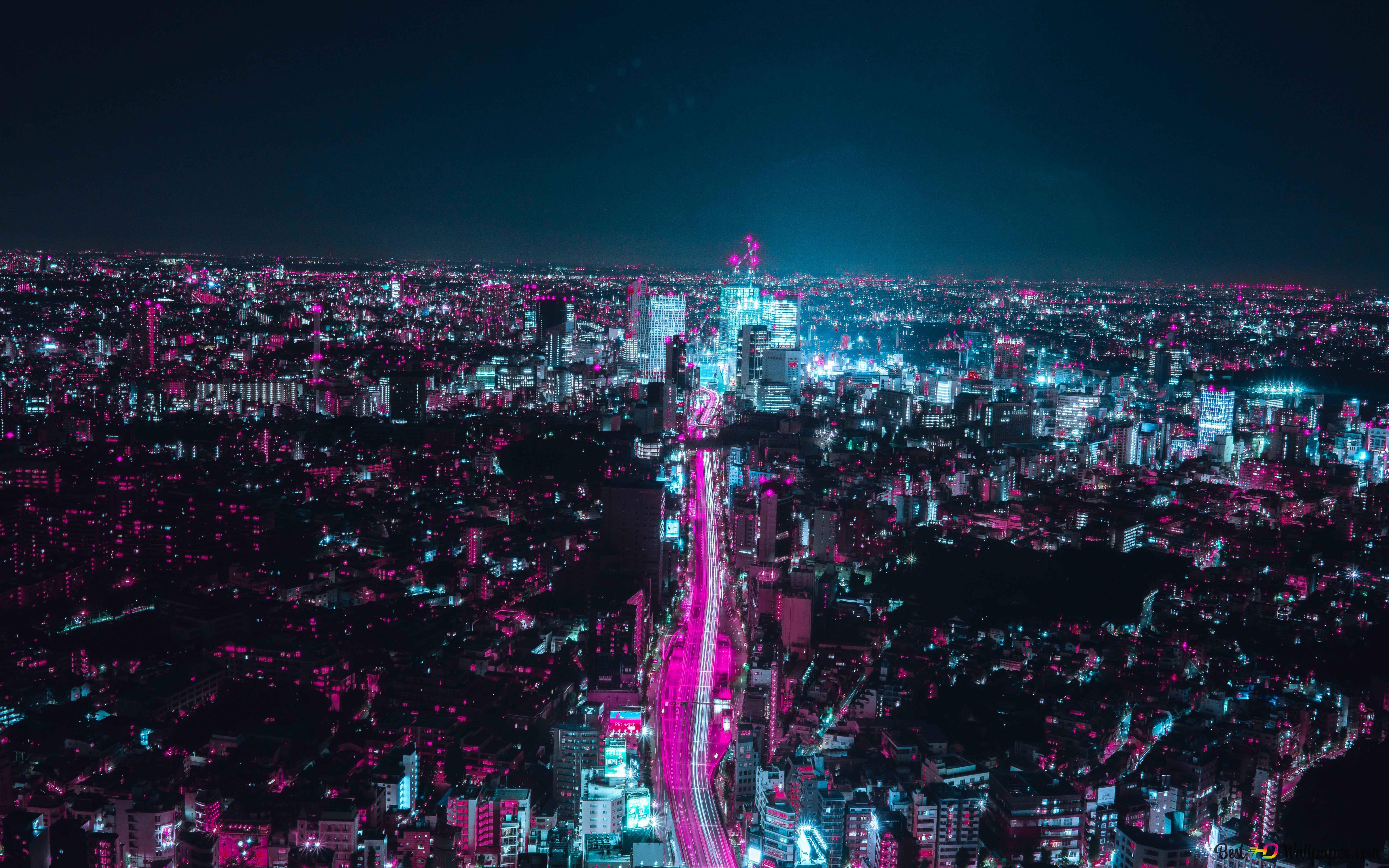 Japan Osaka 8k HD wallpaper download