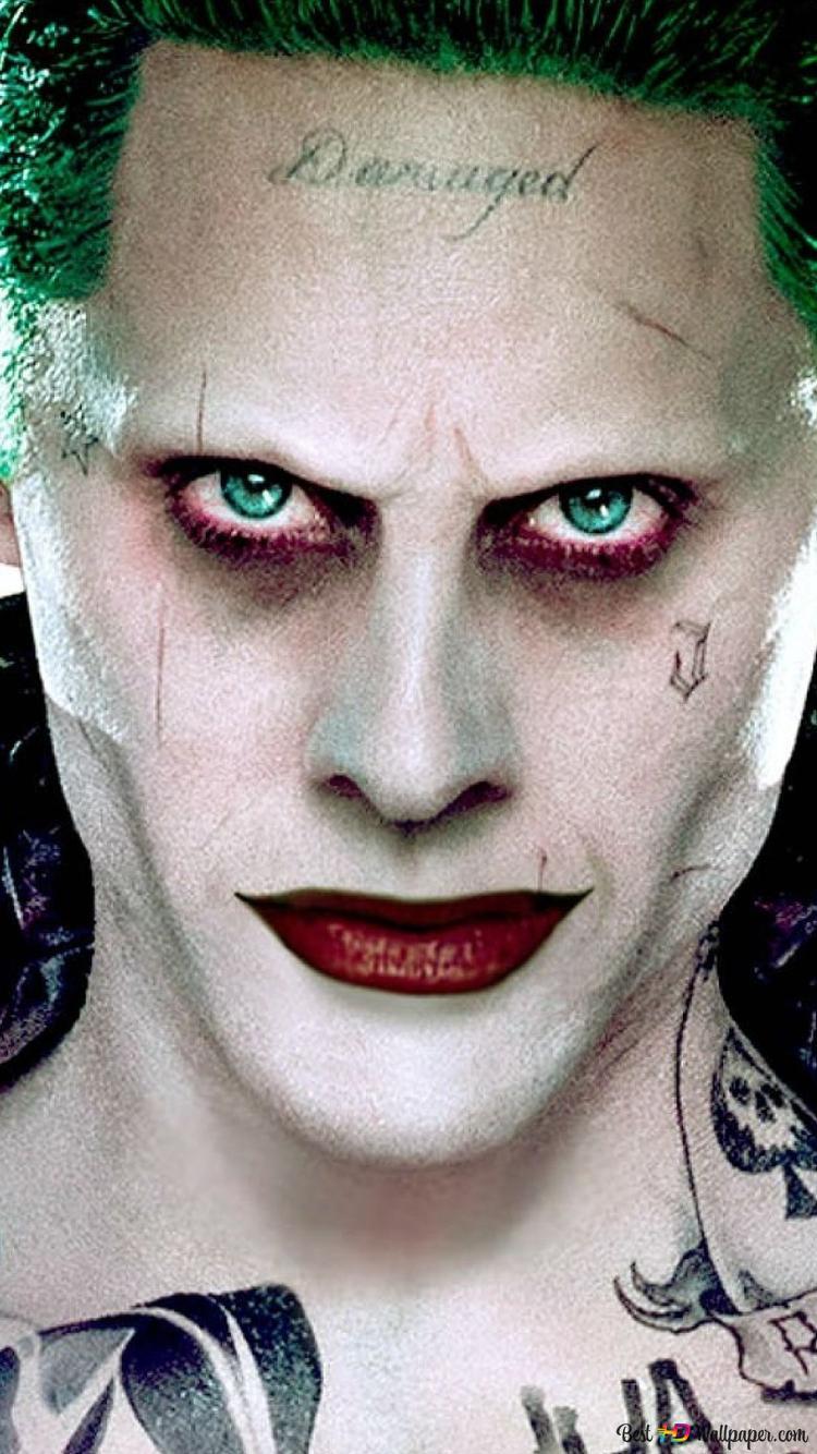 Jared Leto In Joker Makeup Hd Wallpaper Download