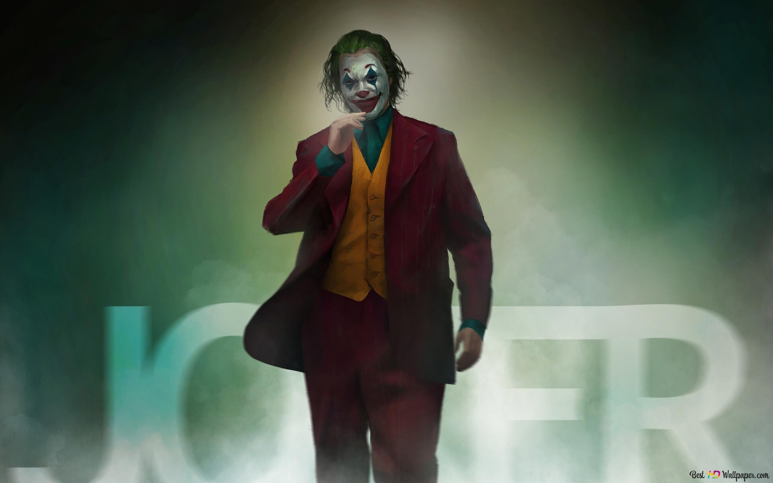Descargar Fondo De Pantalla Joker Cartel De Película Hd