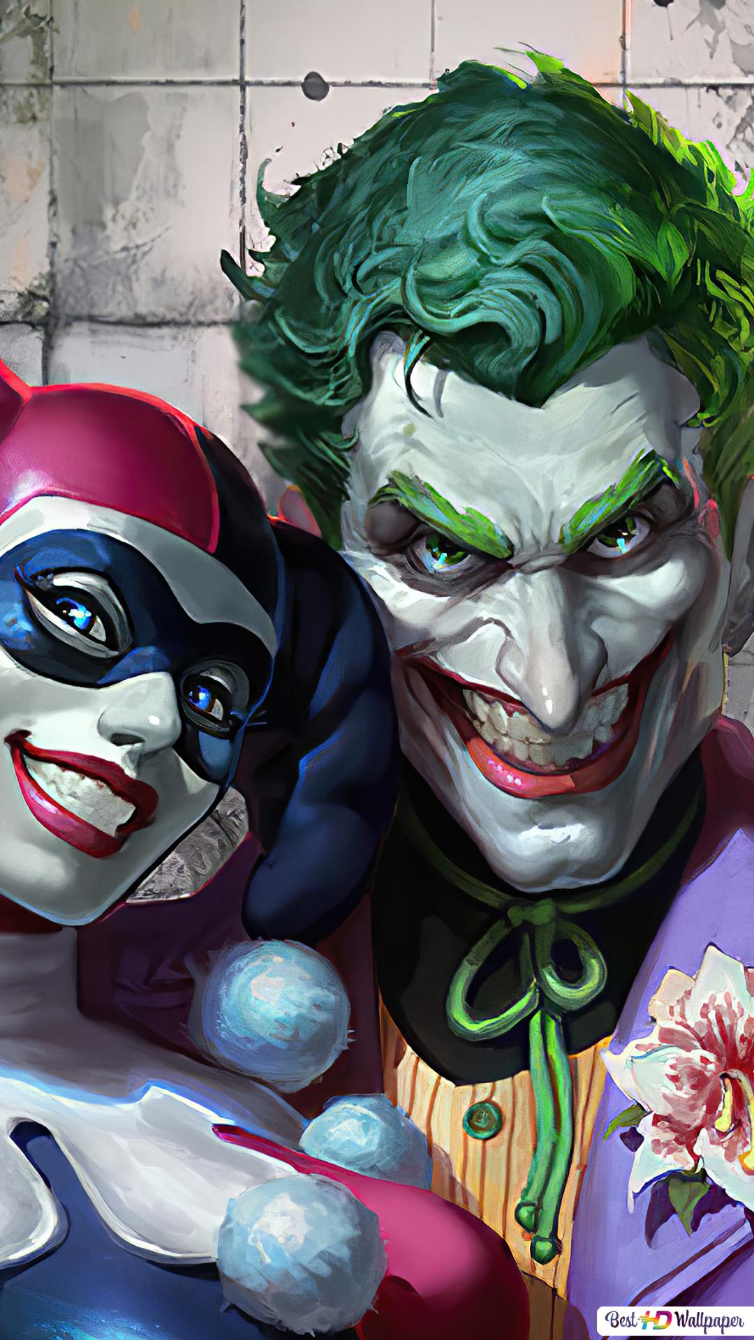 Joker ♥ Harley Quinn HD wallpaper download