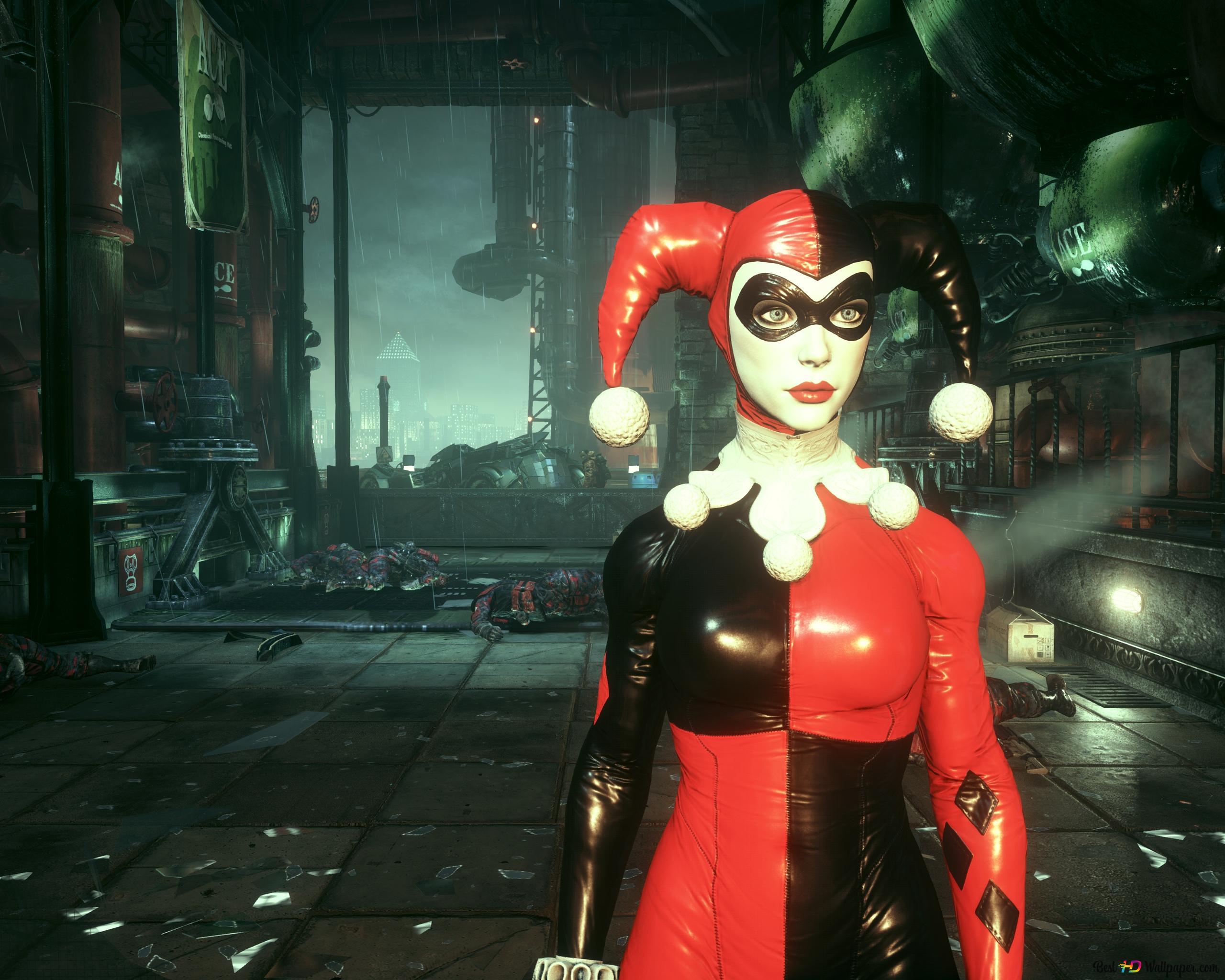 Joker Harley Quinn Hd Wallpaper Download