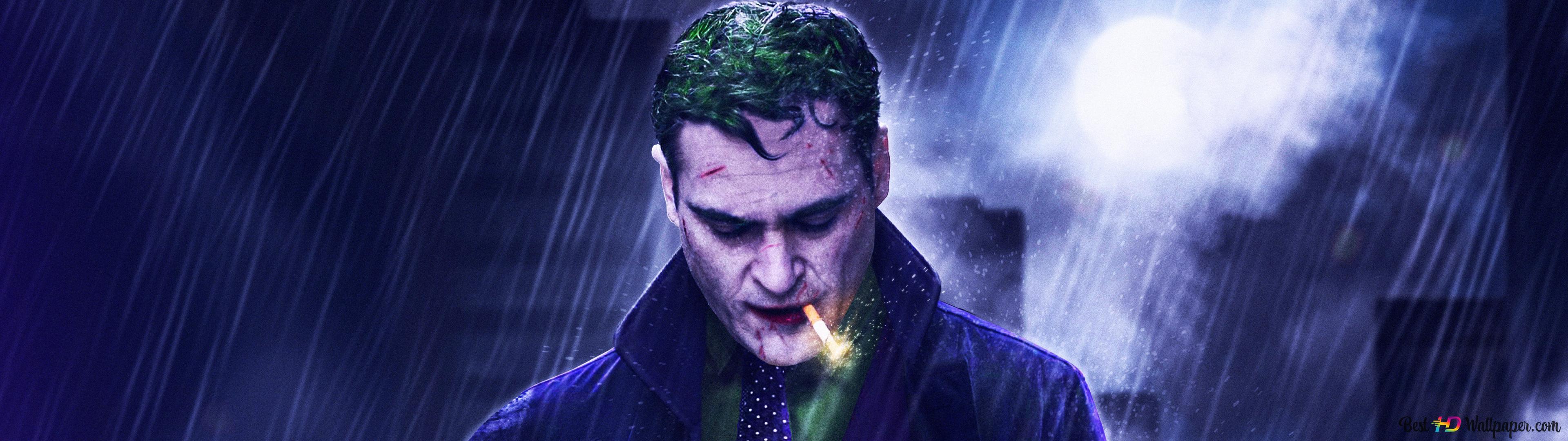 Joker In Klassischem Lila Anzug Hd Hintergrundbilder