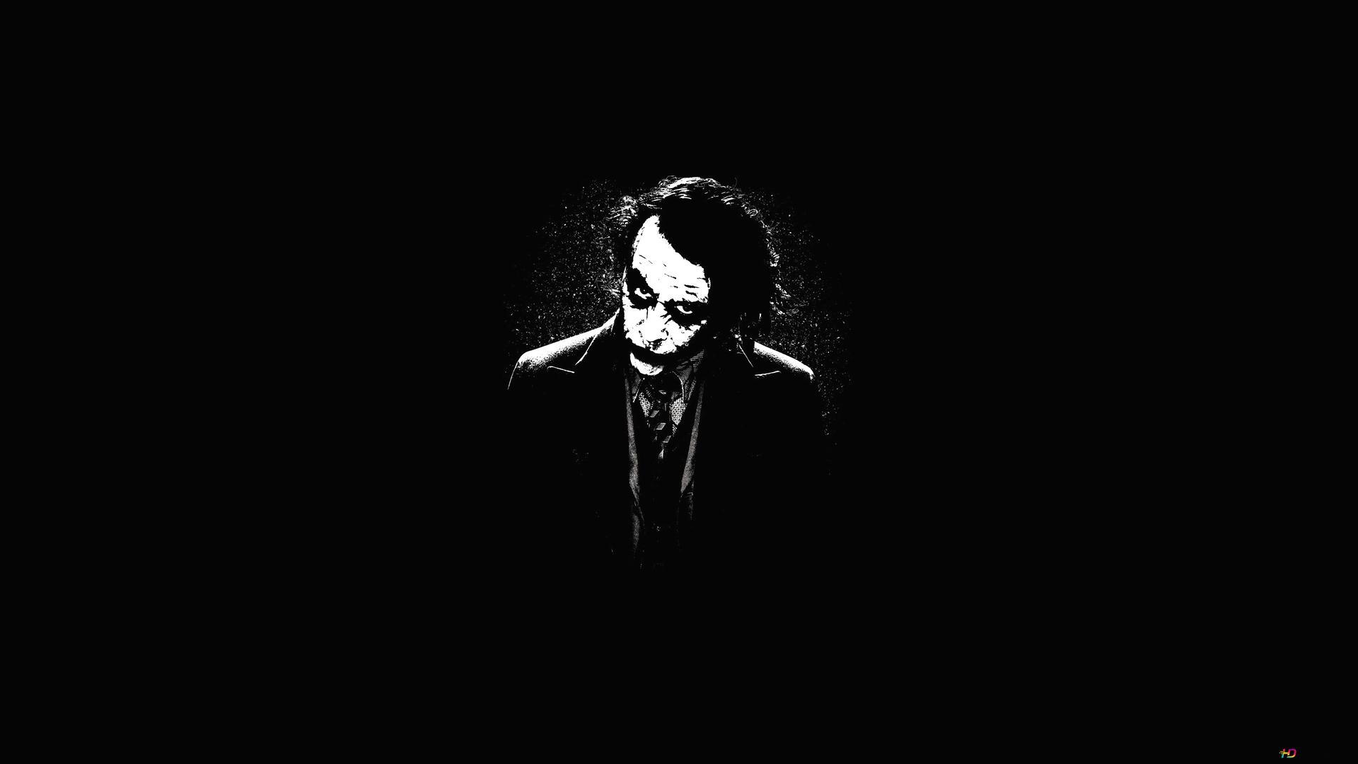Joker Minimalist Hd Wallpaper Download