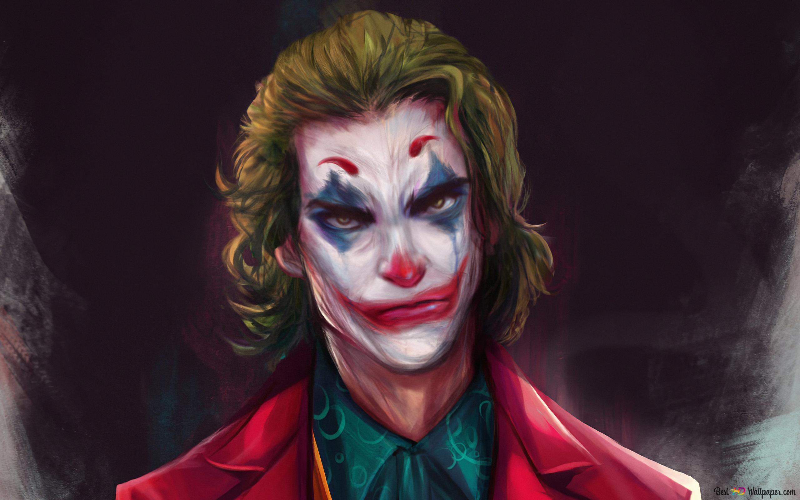 Joker Movie Animated Hd Wallpaper Download
