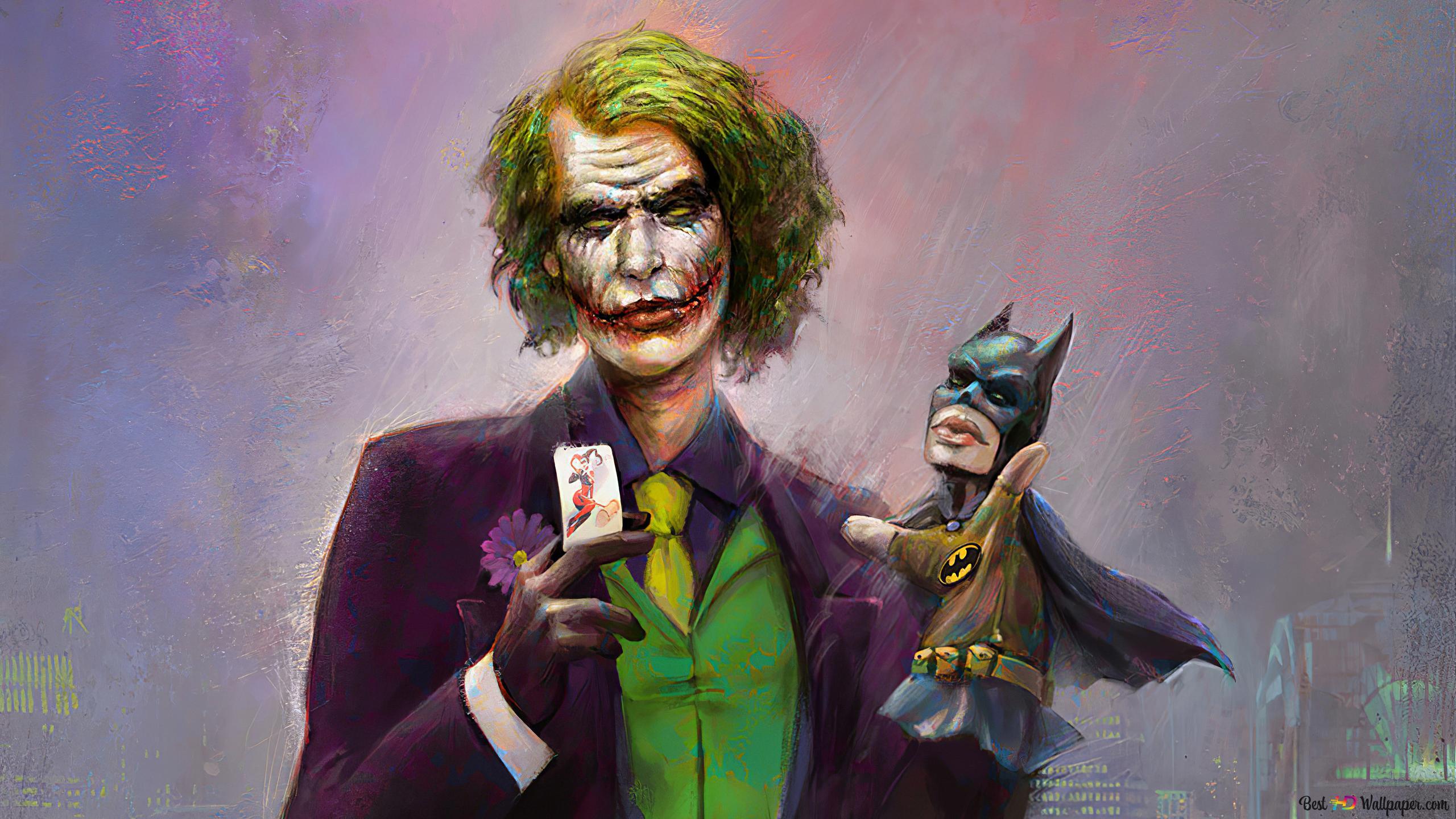 Joker và Batman truyện tranh Tải xuống hình nền HD