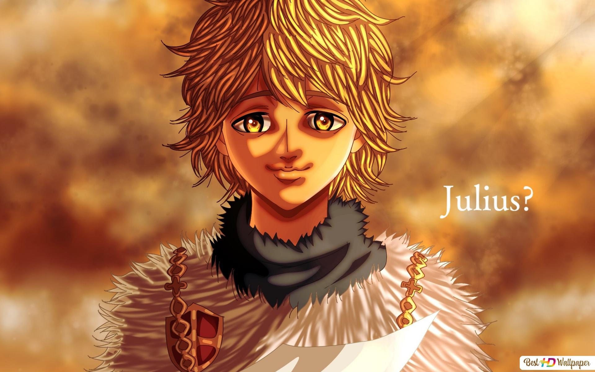 Julius Novachrono Black Clover Hd Wallpaper Download