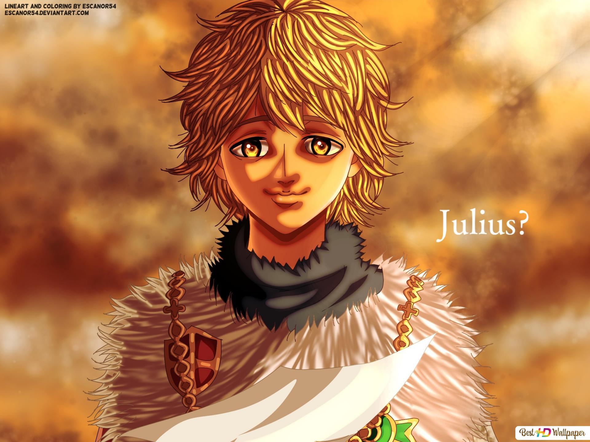 Julius Novachrono Black Clover Hd Wallpaper Download Julius novachrono 「ユリウス・ノヴァクロノ yuriusu novakurono」 is the 28th magic emperor of the five leaf clover orange julius coming of age anime my black fan art cosplay manga devil. julius novachrono black clover hd