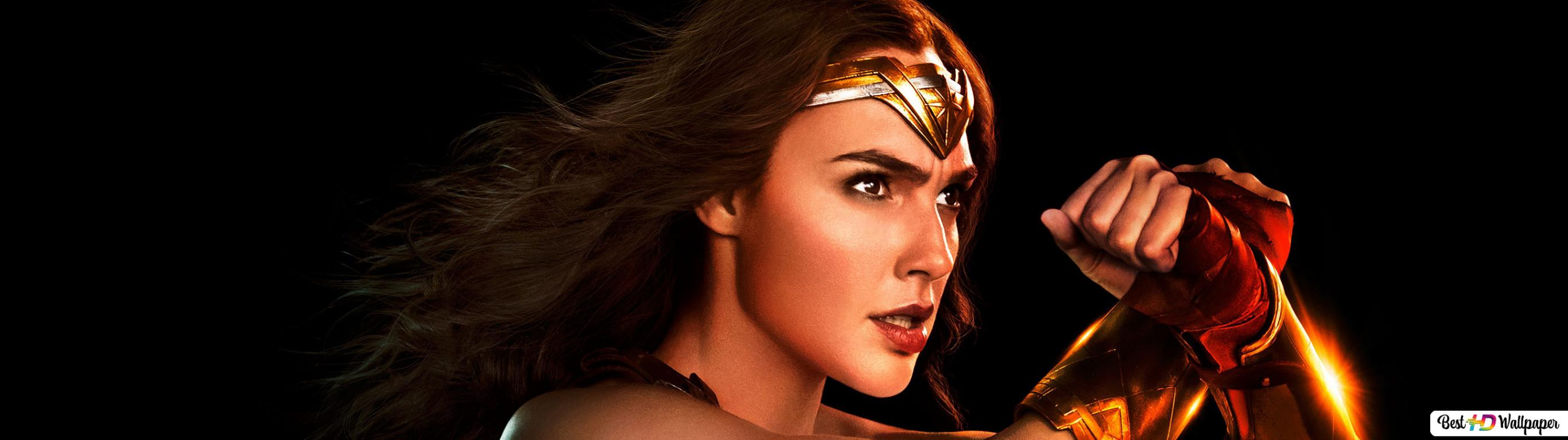 Justice League Gal Gadot As Wonder Woman Hd Wallpaper Download