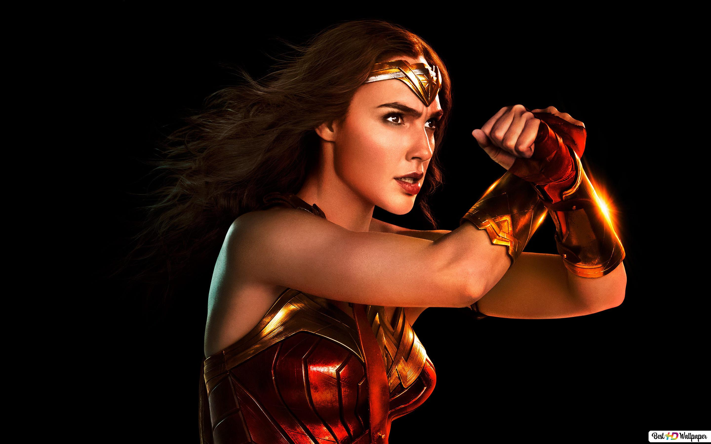 Justice League Gal Gadot As Wonder Woman Hd Wallpaper Download