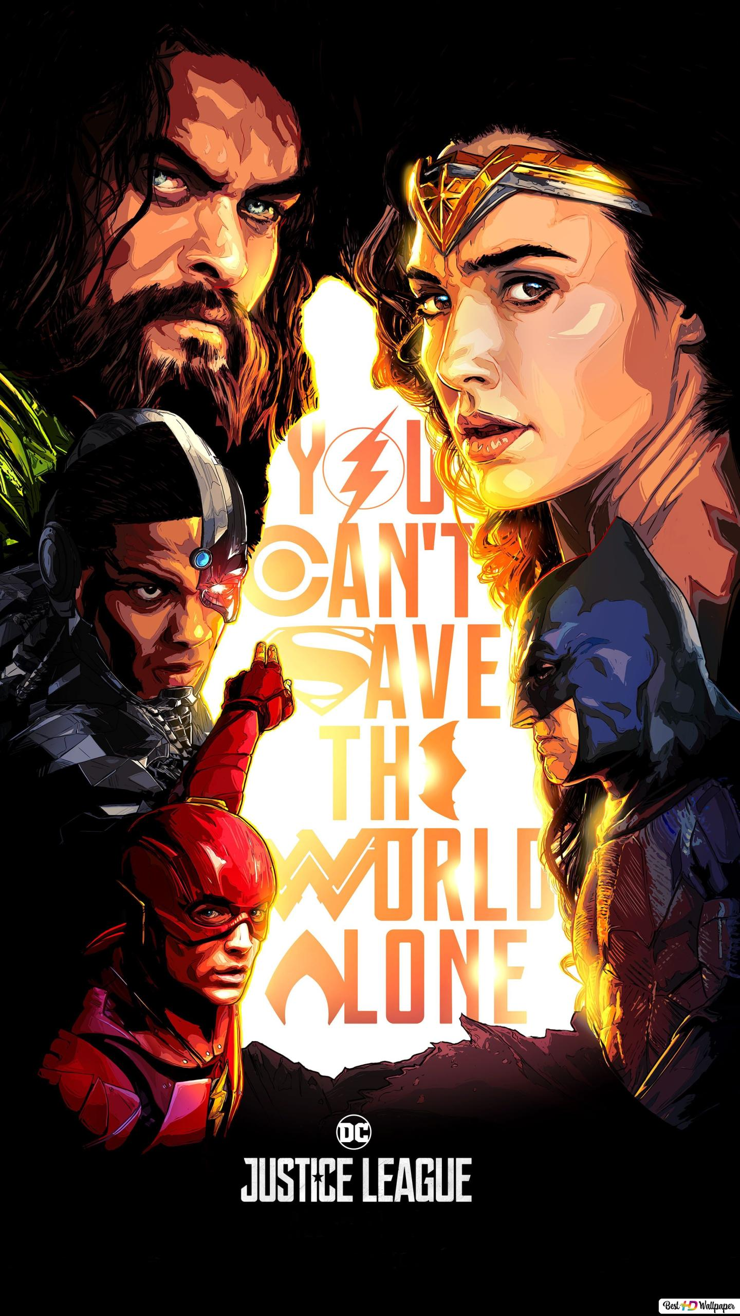 Justice League Movie Comic Heroes Hd Wallpaper Download