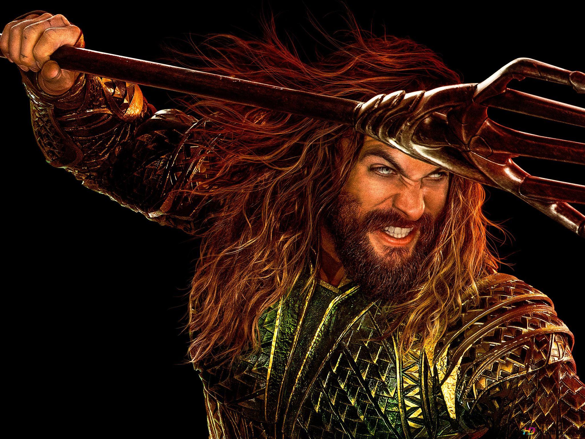 Justice League Movie Jason Momoa As Aquaman Hd Wallpaper Download