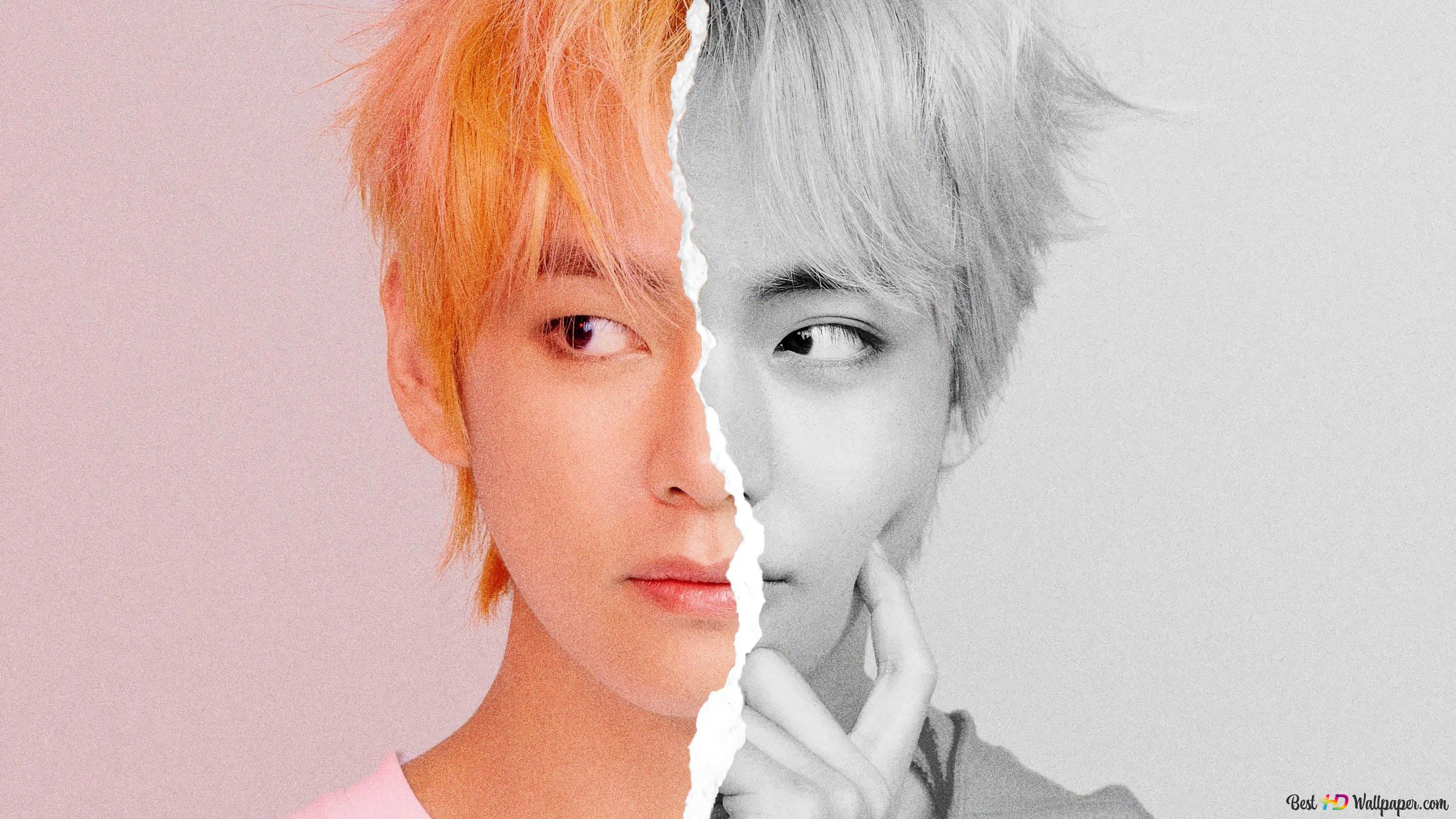 k pop band bts idol v kim tae hyung wallpaper 3554x1999 53628 53