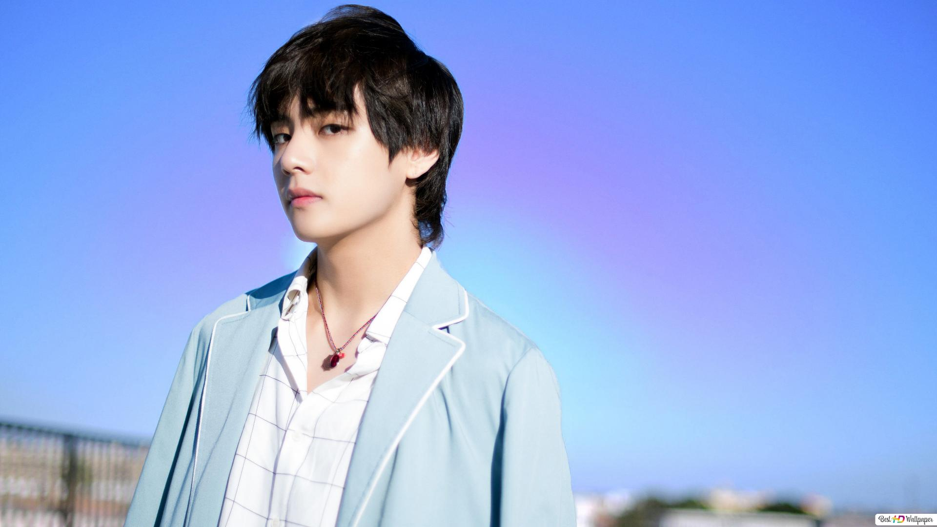 k pop group bts idol v kim tae hyung wallpaper 1920x1080 53645 48