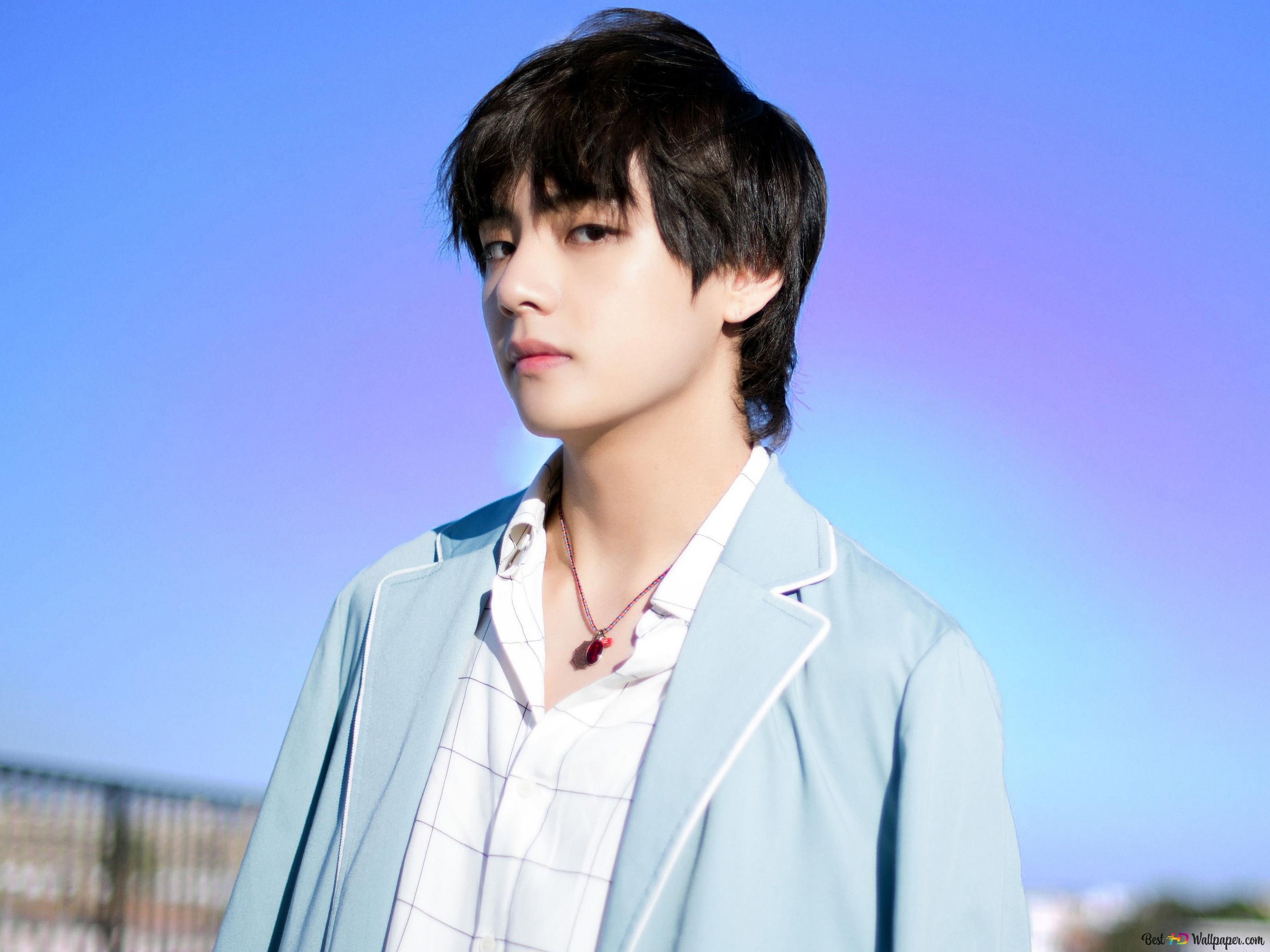 k pop group bts idol v kim tae hyung wallpaper 2732x2048 53645 172
