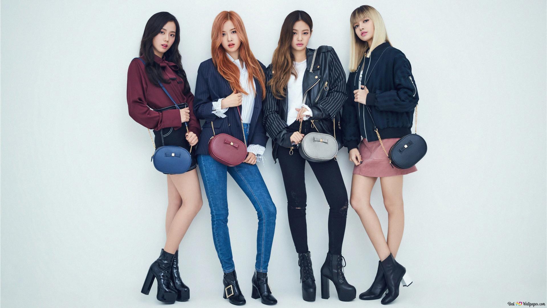 K Pop Music Girls Group Blackpink Hd Wallpaper Download