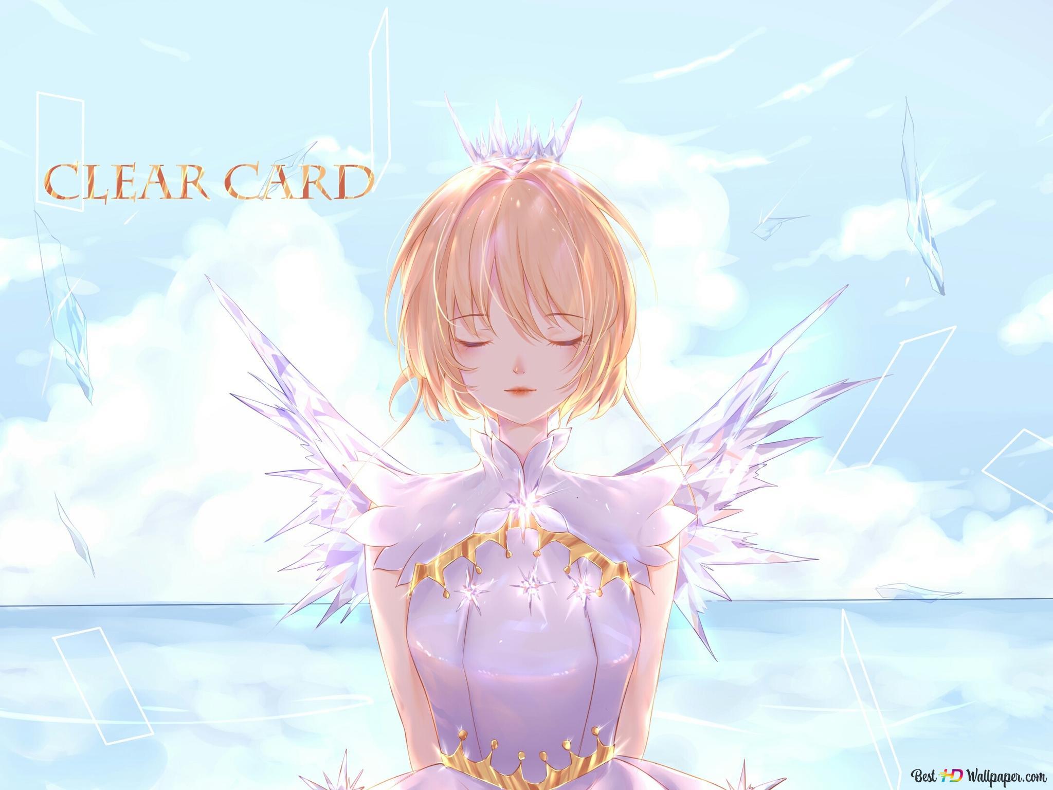 カードキャプターさくら 木之本桜のクリアカード Hd壁紙のダウンロード