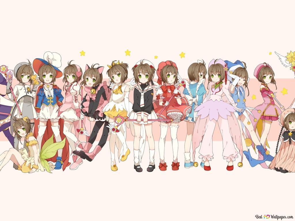 カードキャプターさくら 木之本桜の衣装 Hd壁紙のダウンロード