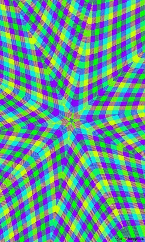Kaleidoscope Plaid 2 Hd Wallpaper Download