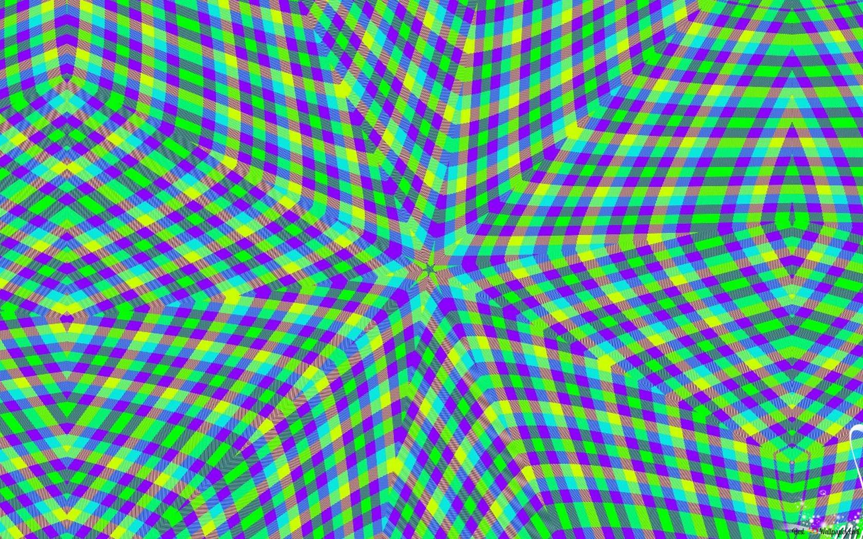 Kaleidoscope Xadrez 2 Hd Wallpaper Download