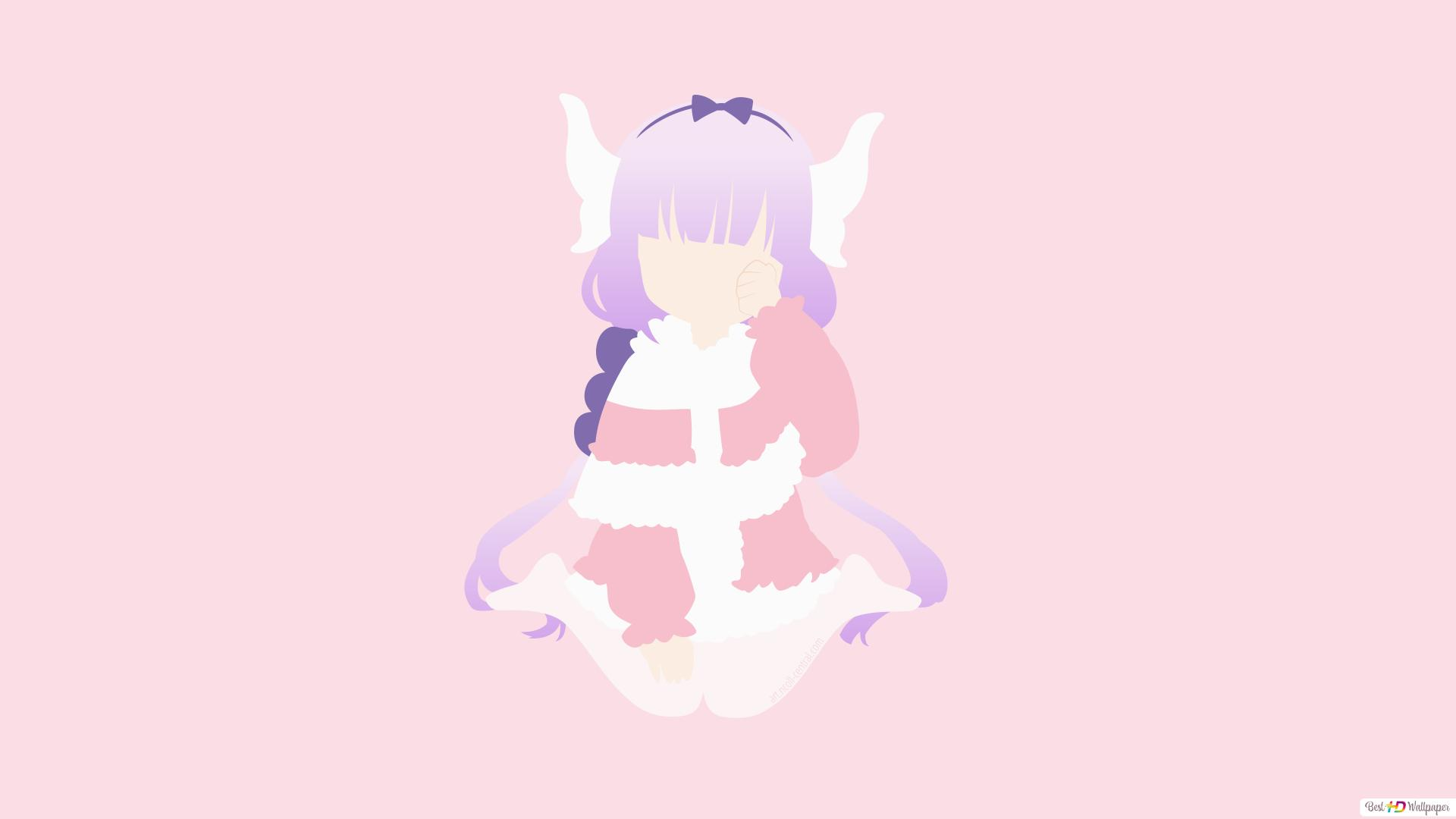 Kanna Kamui Of Miss Kobayashi S Dragon Maid Hd Wallpaper Download