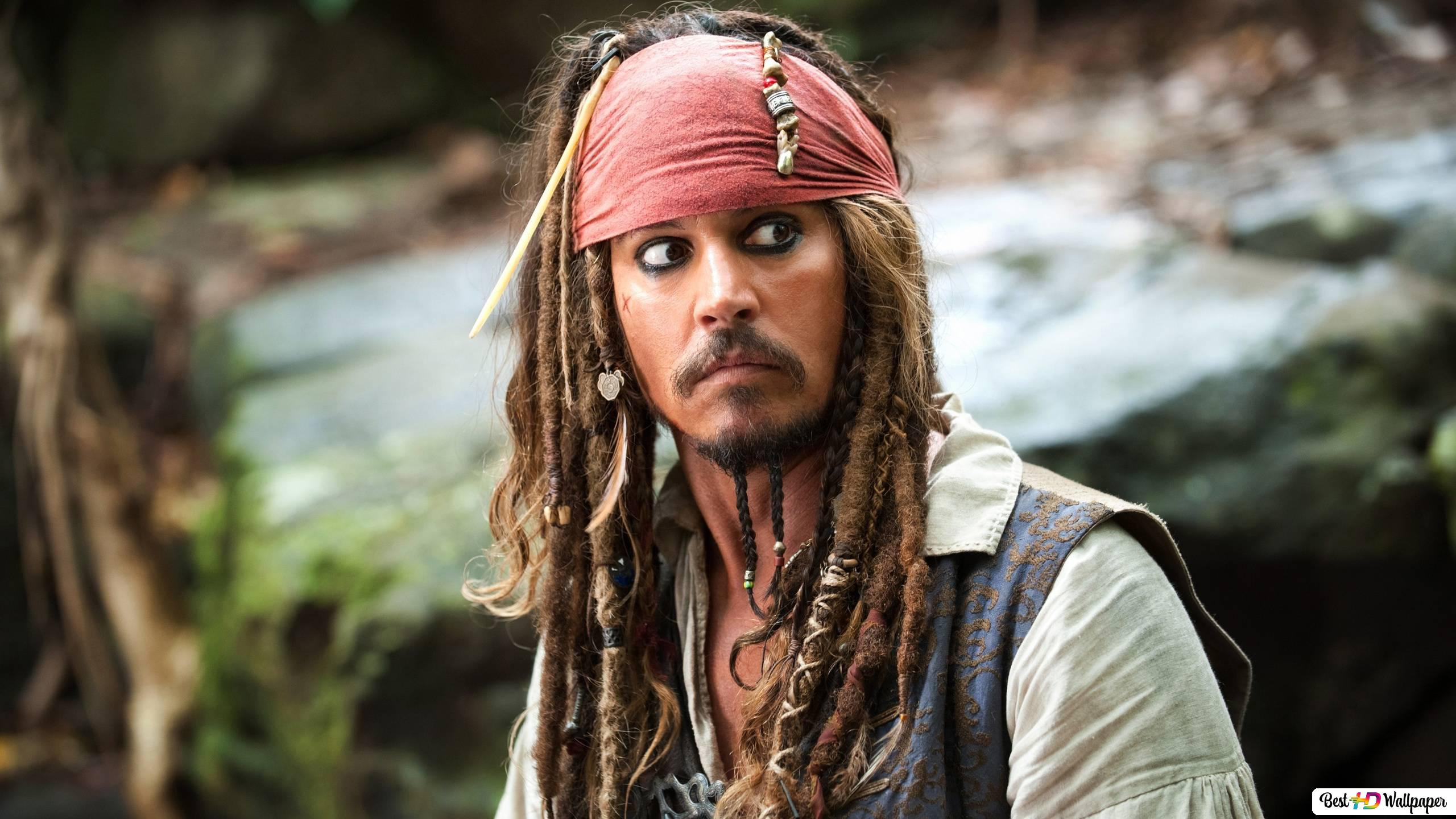 カリブ映画の海賊 ジャック スパロウ Hd壁紙のダウンロード