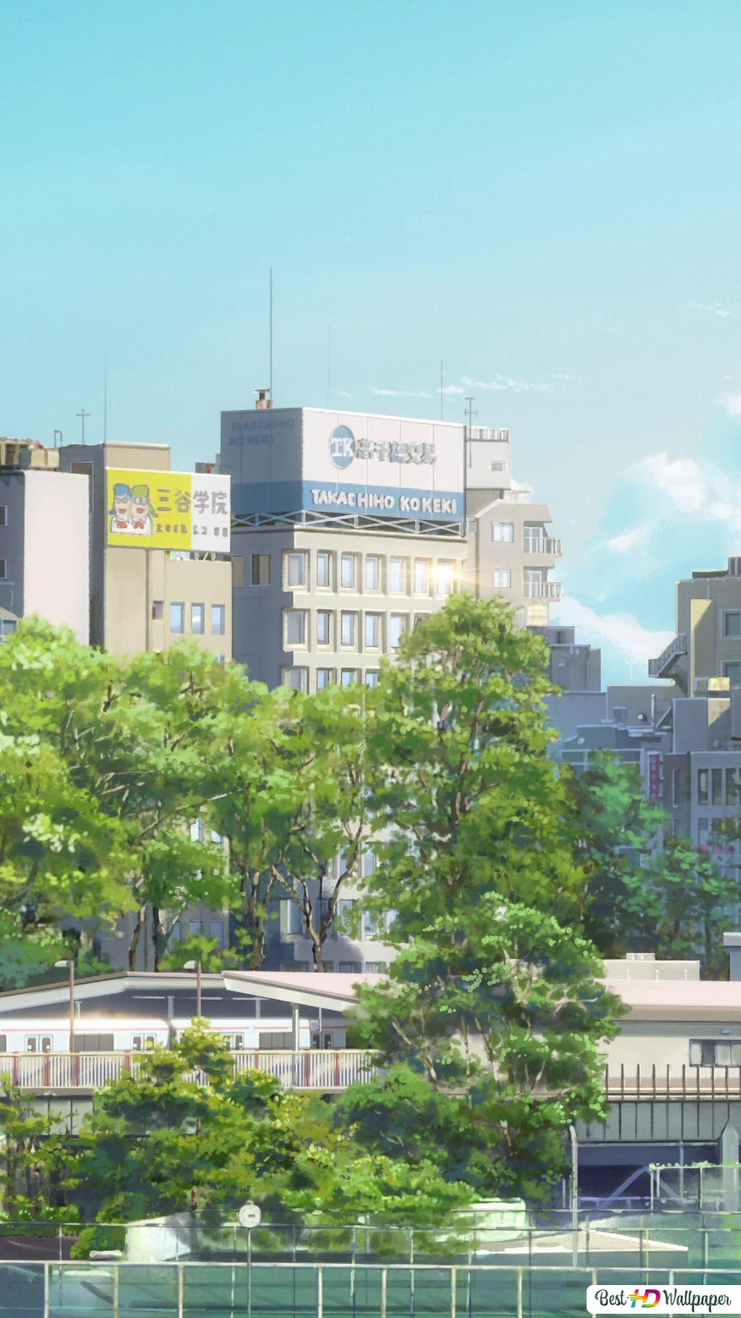 Kimi No Na Wa Tokyo Hd Wallpaper Download