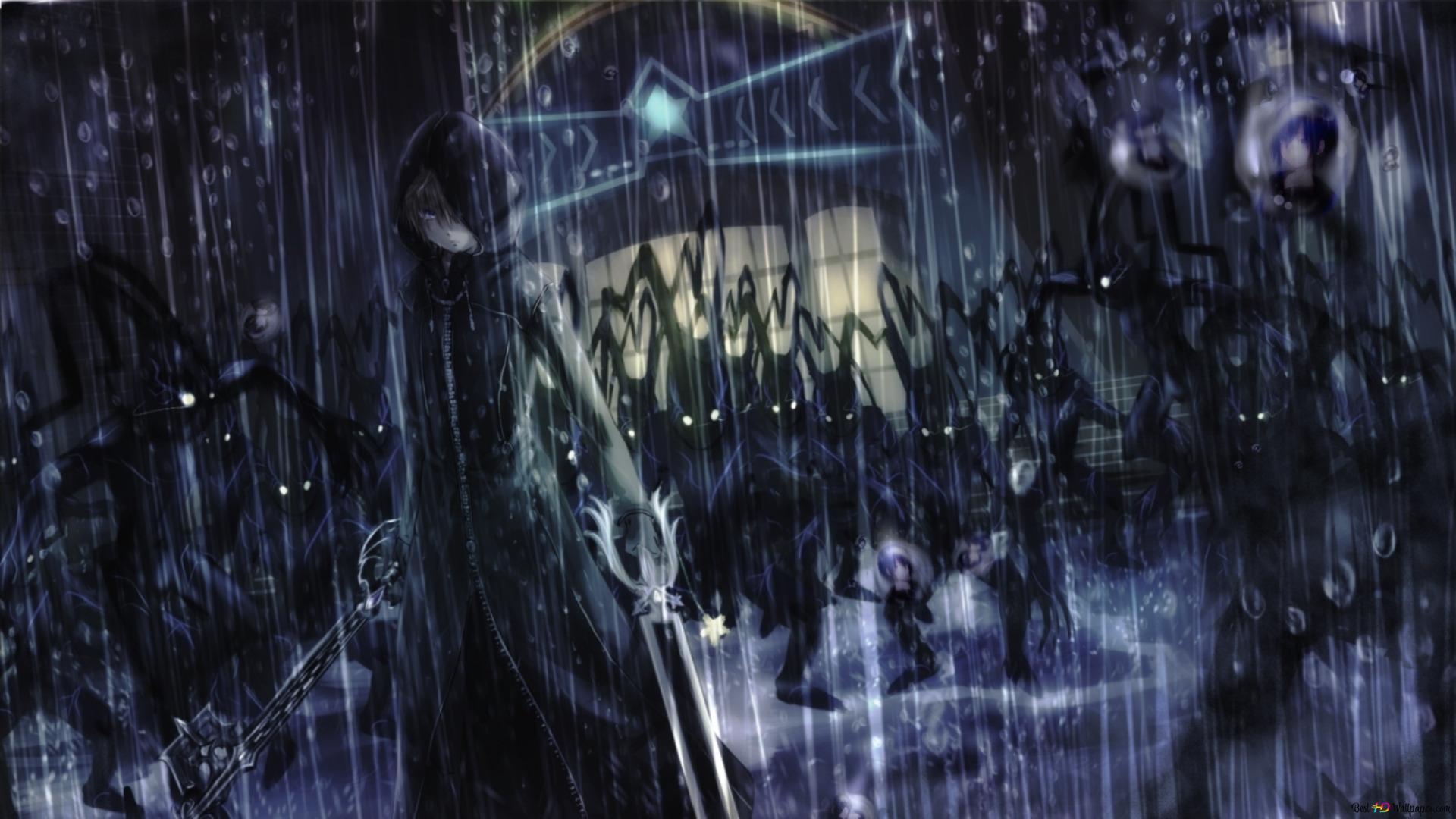 Kingdom Hearts Ii Roxas Hd Wallpaper Download